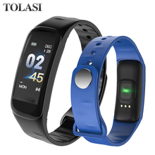 Fitness Tracker Smart Bracelet C1Plus Color Screen Blood Pressure Heart Rate Monitor Smart Band C1S for Sport watch Android IOS цена и фото