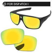 Papaviva 24K Золотые Зеркальные поляризованные Сменные линзы для отправки 1 OO9090 солнцезащитные очки оправа защита от ультрафиолетовых лучей и уфв