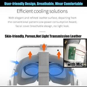 "Image 5 - BOBO VR Z6 Bluetooth 3D gafas Realidad Virtual caja Google cartón estéreo micrófono casco para 4,7 6,5"" smartphone + Joystick"