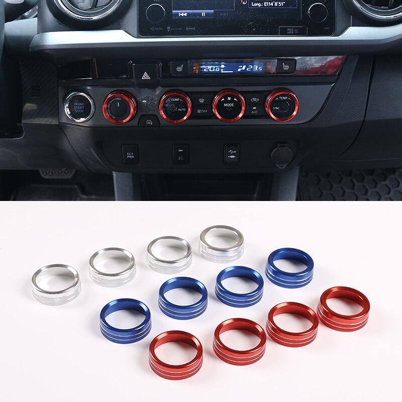 Купить 4 шт крышка кнопки для автомобильного кондиционера и регулятора