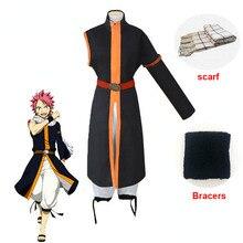 Аниме Феи хвост косплей костюм фигурка аниме косплей костюмы для Хэллоуина шарф полный комплект костюмы