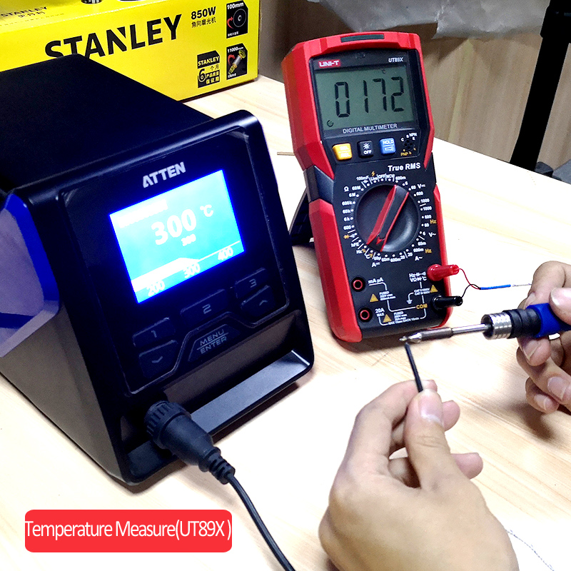 UNI-T UT89XD multimètre numérique véritable RMS testeur AC DC voltmètre ampèremètre 1000V 20A capacité fréquence résistance LED mesure - 3