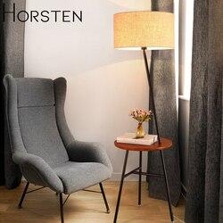 Horsten japoński styl skandynawski lampa podłogowa proste kreatywny stojak podłogowy światło dla Sofa do salonu domowe lampki dekoracyjne E27 110-220V