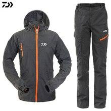 Мужская куртка для рыбалки; водонепроницаемые комплекты; дышащая толстовка для рыбалки; куртки для кемпинга; спортивная одежда; куртка и брюки; костюмы