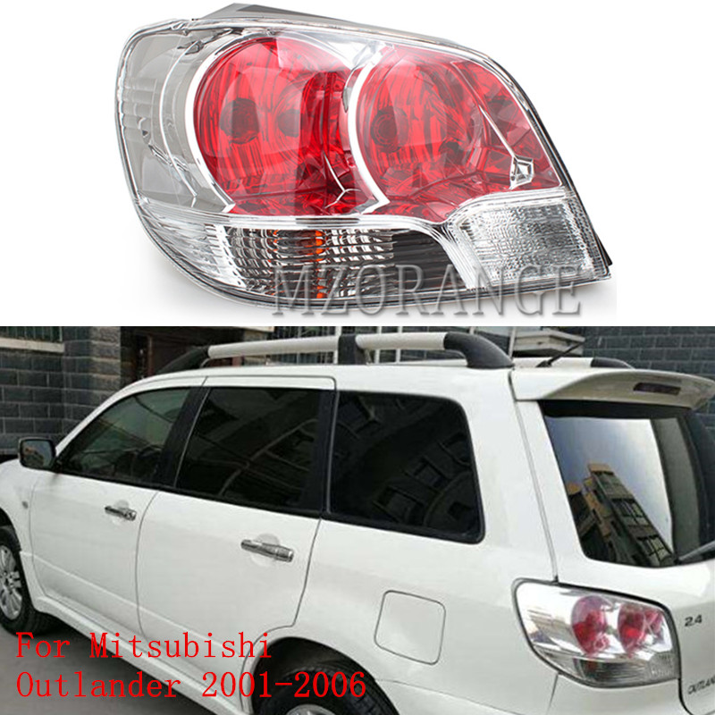 MZORANGE Tail Light Lamp For Mitsubishi Outlander 2001 2002 2003 2004 2005 2006 Taillight Tail Rear Brake Light Car Accessories