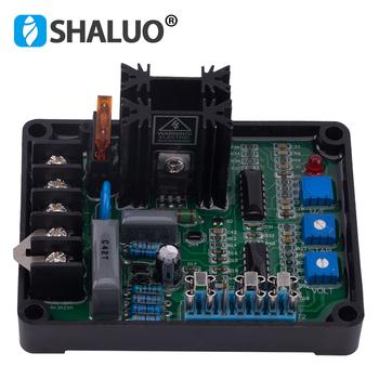 Nowy GAVR 8A bezszczotkowy Generator AVR automatyczny Regulator napięcia moduł uniwersalny generator na olej napędowy stabilizatory mocy wysokiej jakości tanie i dobre opinie SHALUO GAVR-8A brushless