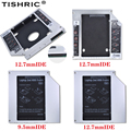 TISHRIC Алюминий 9,5 мм/12,7 мм SATA IDE PATA 2nd HDD Caddy 2,5