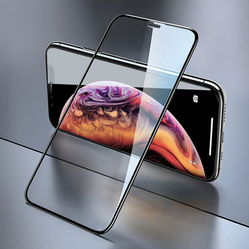 3D Full Coverage Tempered Glass For Apple iPhone 11 Pro Max XS XR X 8 7 6 6S Plus Screen Protector Protective Cover Film 100Pcs