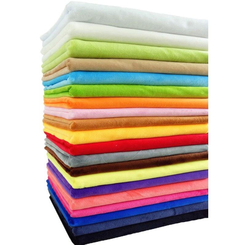 150X50cm Plush Fabric Super Soft Crystal Short Plush For Sewing Plush Toys DIY Handmade Household Textile Fabric Imported Plush