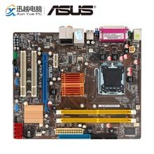 Asus P5KPL AM เมนบอร์ดเดสก์ท็อป G31 ซ็อกเก็ต LGA 775 สำหรับ Core 2 Extreme DDR2 4G SATA2 USB2.0 VGA uATX เดิมใช้เมนบอร์ด