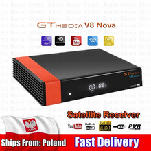 GTMEDIA V8 NOVA DVB-S2 Ricevitore TV Digital Video Broadcasting Ricevitore HD 1080P Set Top Box Built-in WiFi supporto H.265 EPG