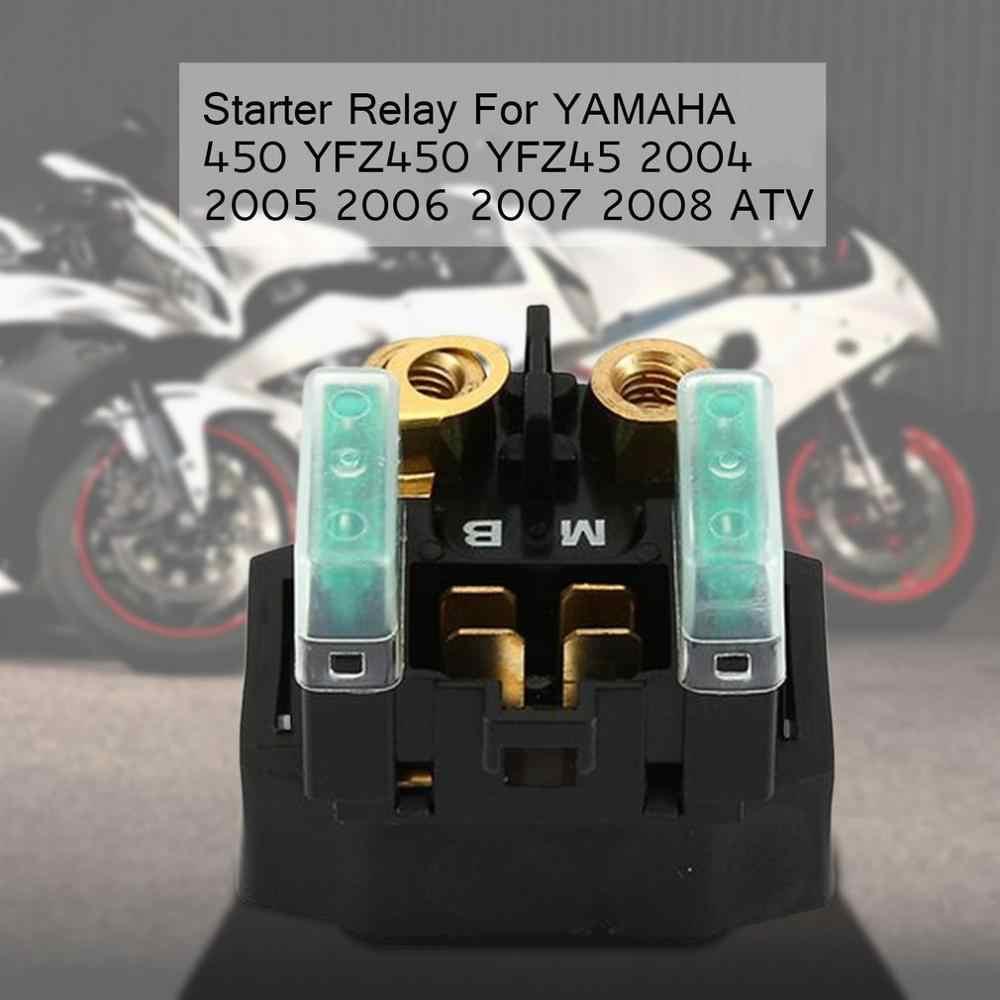 2019 جديد الكهربائية بدال بداية التشغيل الملف اللولبي لياماها 450 YFZ450 YFZ45 2004 2005 2006 2007 2008 ATV المكونات مربع 30A عكس