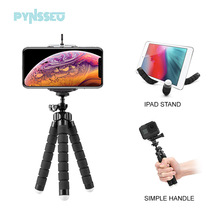 Octopus Tripod Camera Smartphone-Clip Gopro PYNSSEU Flexible Mini iPhone for Sponge Samsung