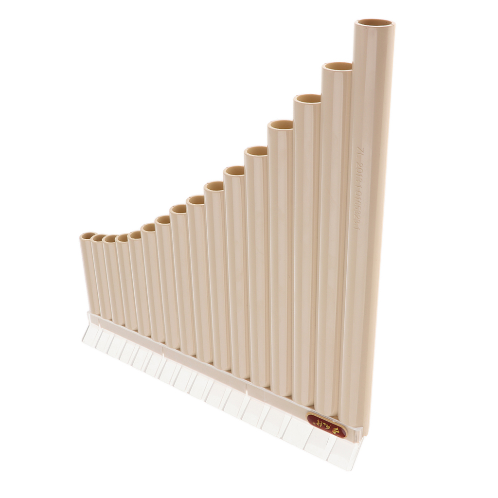 Pan Flute 16 Pipes ABS Plastic Panpipes C Tone Flauta For Beginner Musical Gift