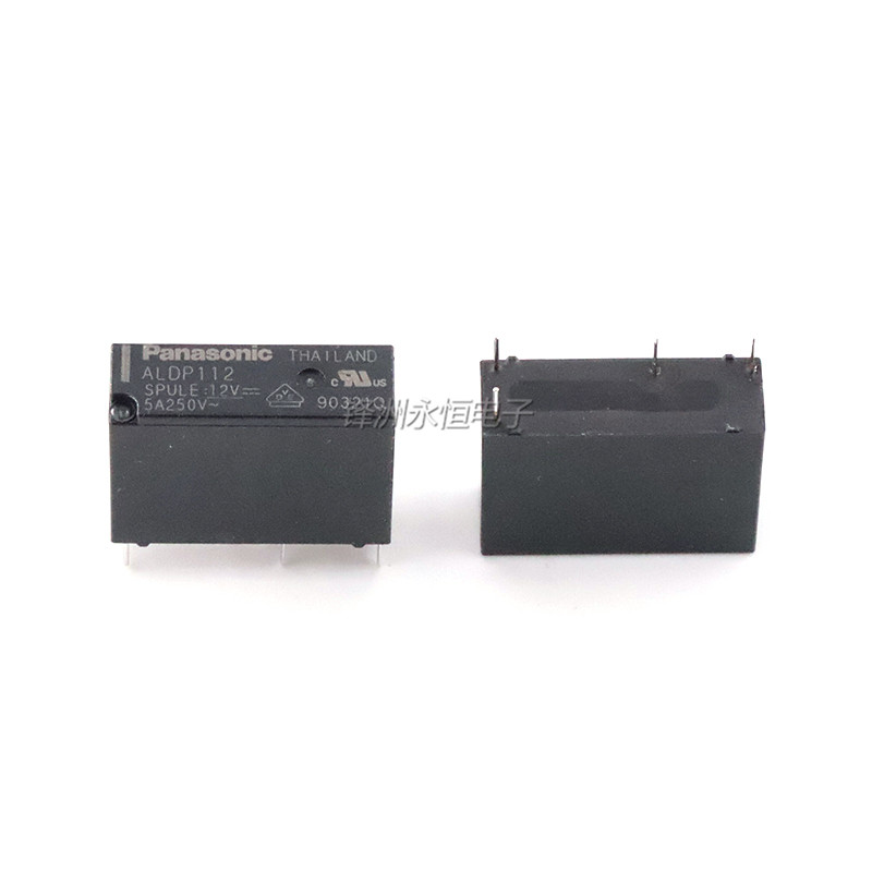 Image 2 - 20PCS/lot  Relay  ALDP105   ALDP112   ALDP124   5V 12V 24V  5A  4PIN  a group of normally openRelays   -