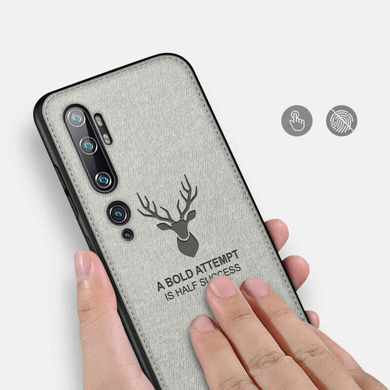 Stof Herten Doek Tpu Case Voor Voor Xiao Mi Mi A3 Lite 9 Lite Note 10 Pro Rode Mi Note 8 T 8A7 6 5 Pro 7A 6A Shockproof Cover Fundas