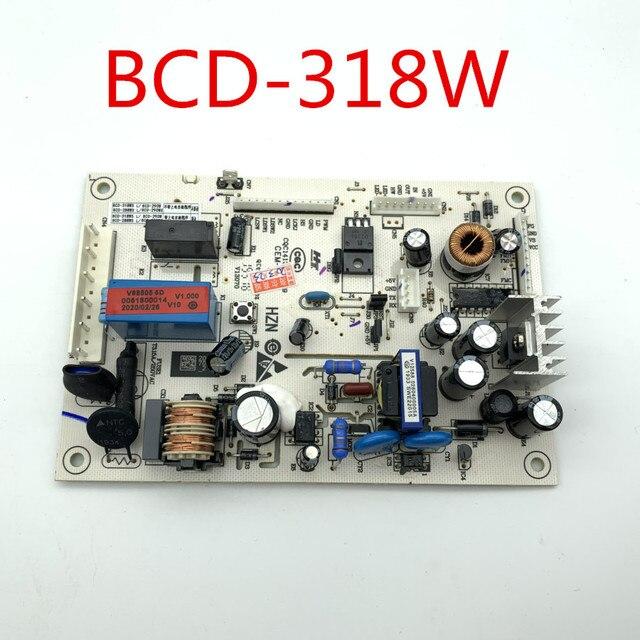 עבור Haier תדר מקרר מחשב לוח מעגל לוח BCD 318W 0061800014 נהג לוח טוב עבודה