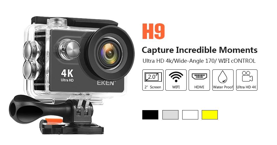 Eken H9R 4K Action Camera 13