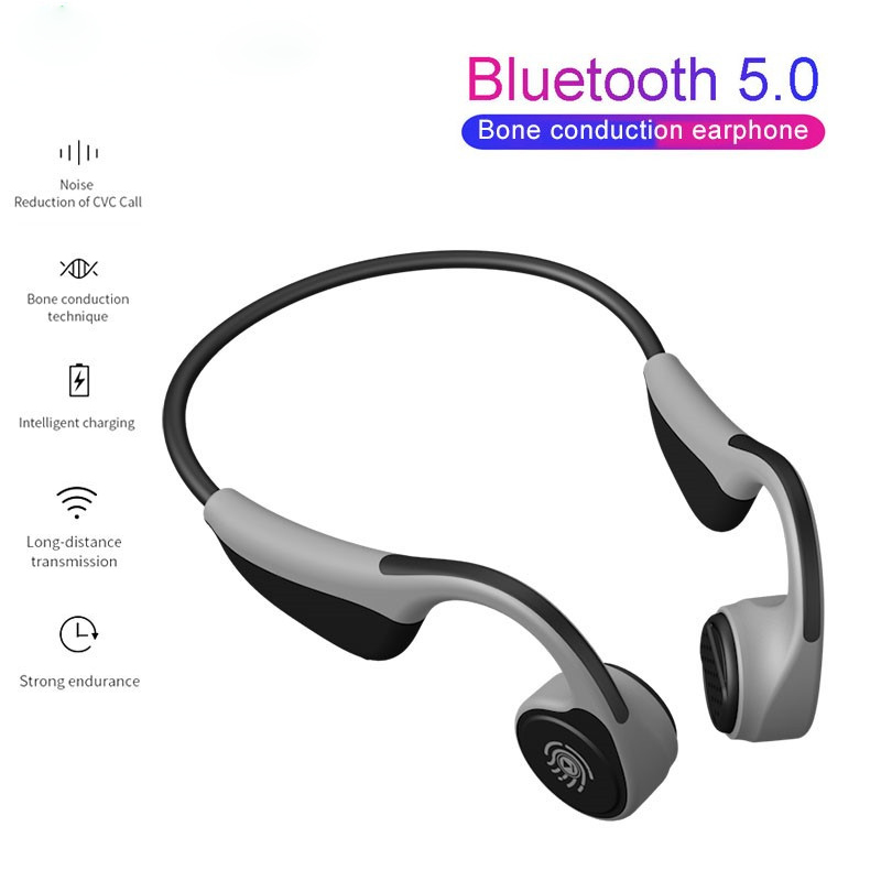 Новые V9 Bluetooth костной проводимости гарнитуры Беспроводные спортивные наушники Handsfree водонепроницаемые наушники PK Z8 для смартфонов