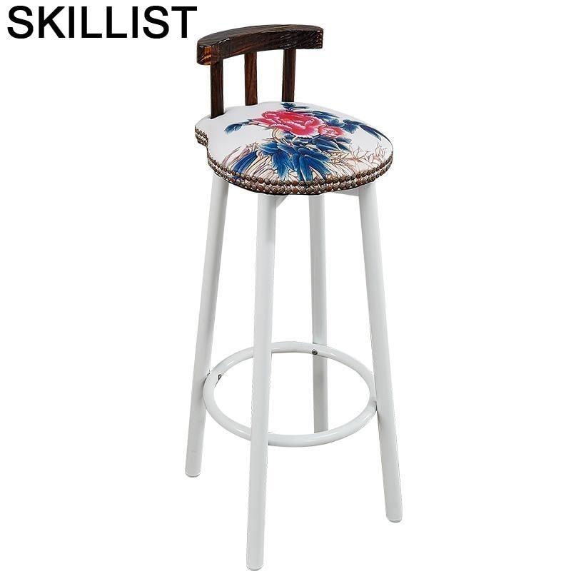 Fauteuil Taburete Barkrukken Sedie Sandalyesi Stoel Cadir Barstool Para Barra Silla Tabouret De Moderne Stool Modern Bar Chair