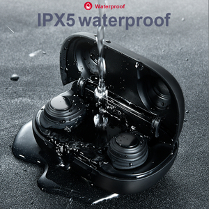 Image 2 - X9 TWS V5.0 Bluetooth אוזניות אלחוטי סטריאו הכפול מיקרופון עמיד למים רעש מבטל אוזניות LED תצוגת סוג c תשלום תיבה
