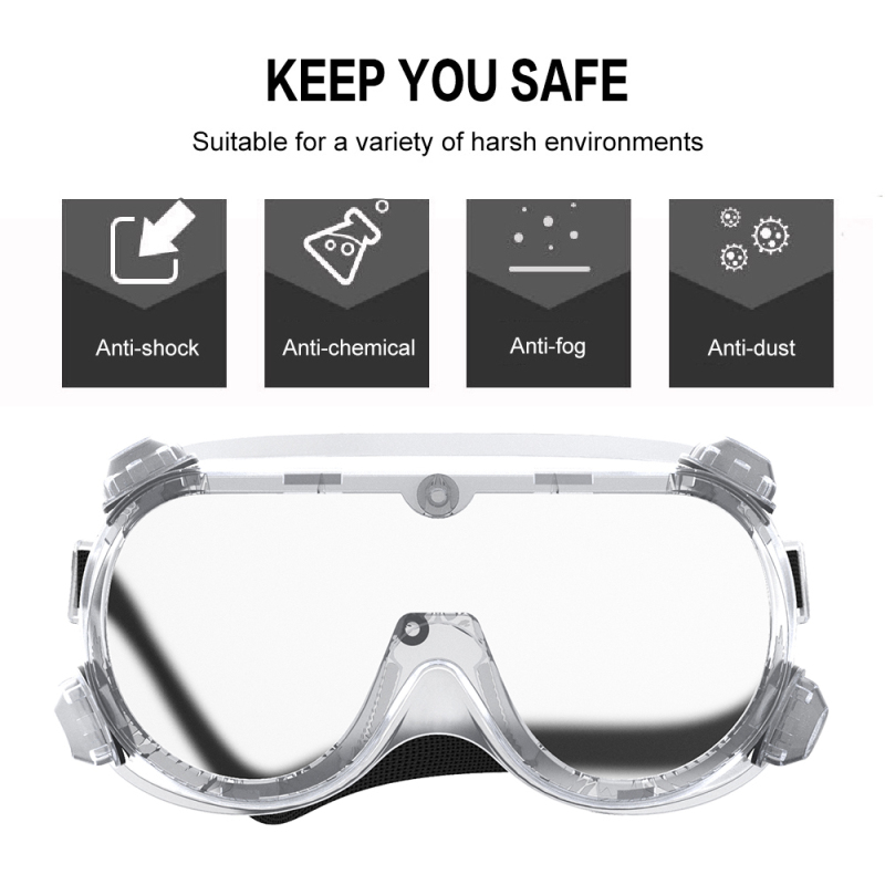 Outdoor Protective Glasses Safety Protection Anti-fog Anti-splash Fully Sealed Sand-proof Wind-proof Goggles Eye Protection