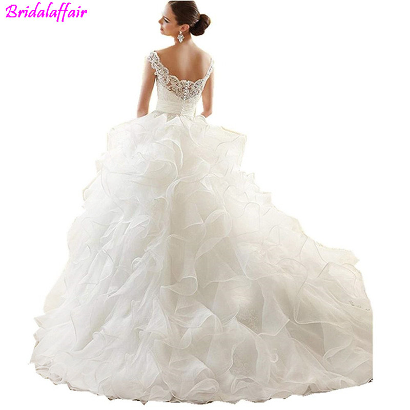 Newest-Design-Organza-Beaded-Tiered-Cape-Scalloped (1)