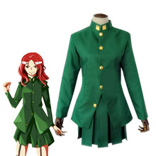 Jojo 'S Bizarre Adventure Stardust Kruisvaarders Noriaki Kakyoin Gakuran School Uniform Dress Anime Cosplay Kostuum(China)