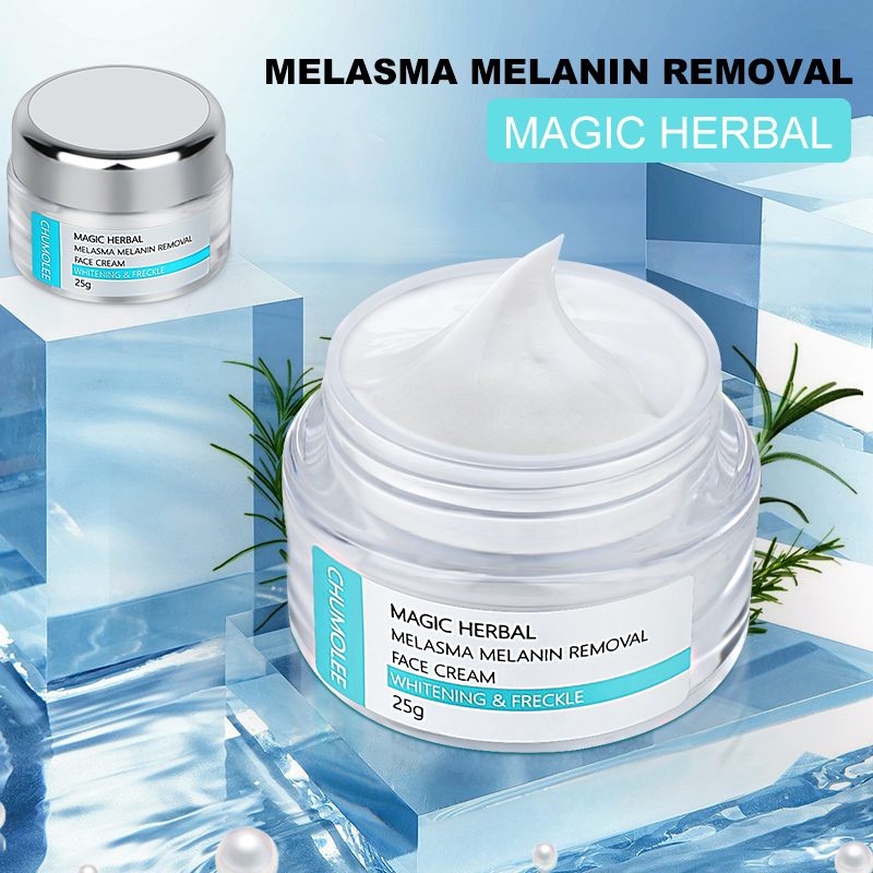 CHUMOLEE Strong Whitening Facial Cream Remove Freckle Melasma Acne Dark Pigment Spots Melanin Pimple Cream Brighten Face Cream-2