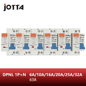 DPNL 1P+N 16A/20A/25A/32A/63A 230V~ 50HZ/60HZ Residual current Circuit breaker with over current and Leakage protection RCBO(China)
