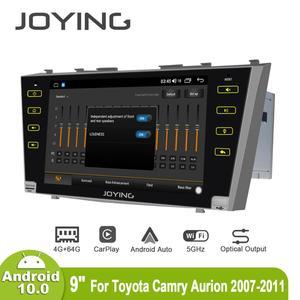 """Image 3 - 9 """"Android10 Radio samochodowe Stereo dla Toyota Camry 2007 2008 2009 2010 2011 DSP GPS SPDIF Carplay 5GWiFi Subwoofer wyjście optyczne"""