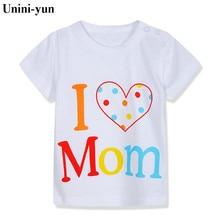 Unini-yun/Летняя одежда для мальчиков детские футболки Коллекция года, брендовая футболка хлопковые топы, одежда для детей футболки для маленьких мальчиков с изображением животных
