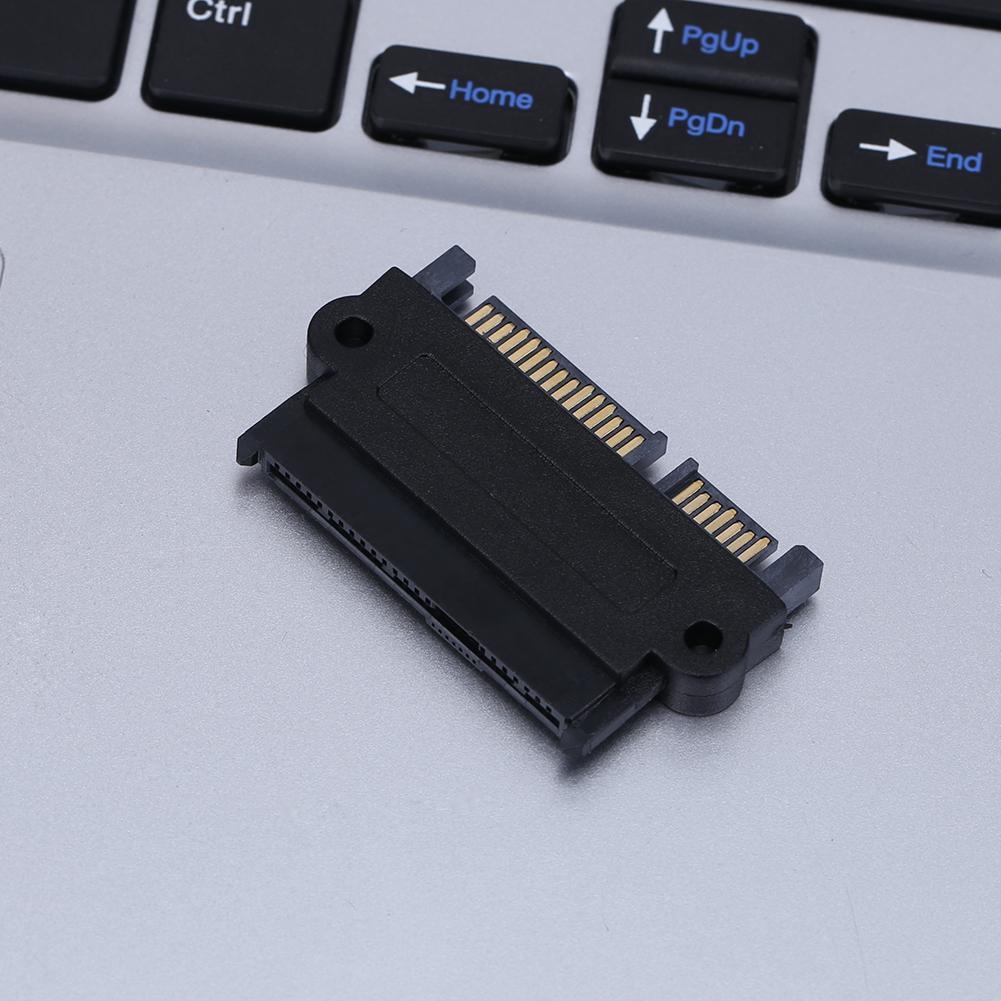 5gbps sff 8482 sas para sata 180 graus ângulo adaptador conversor cabeça reta para discos rígidos sas
