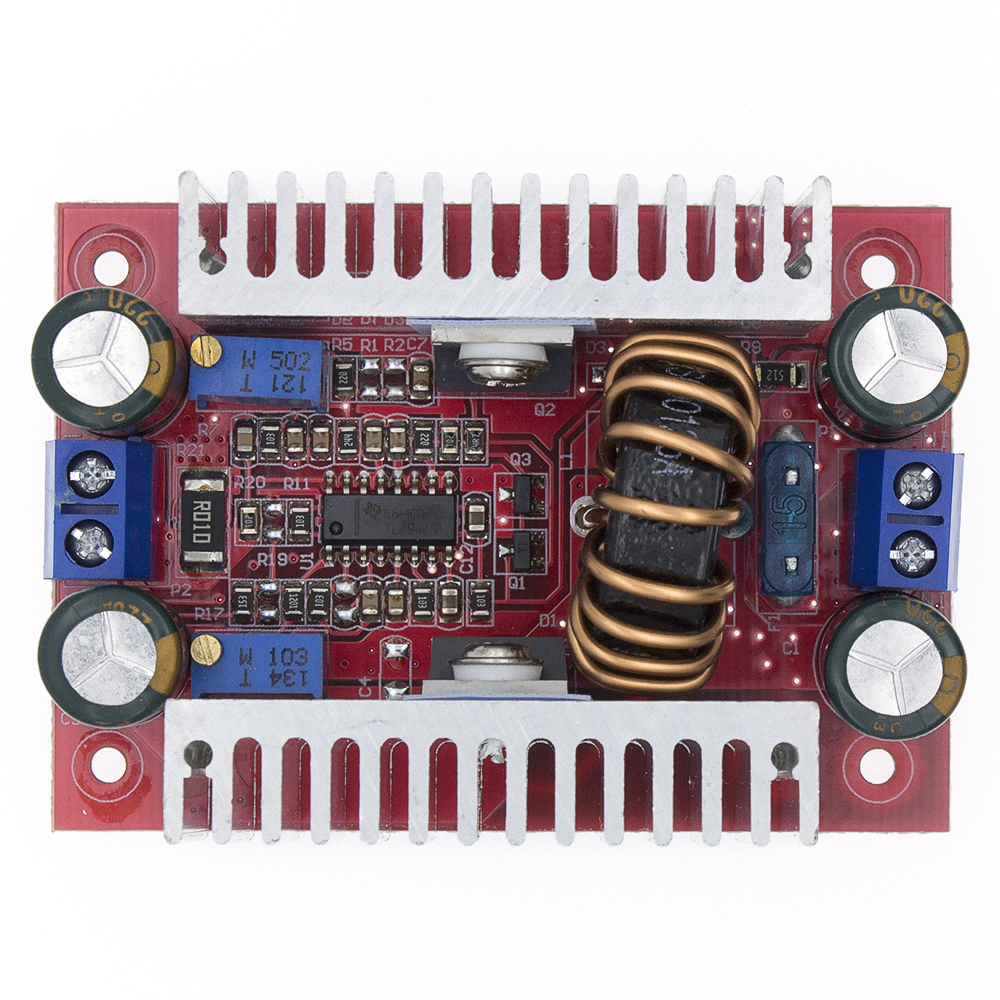 DC-DC 400W 15A Module Step-up Boost Converter Constant Current Power Supply LED Driver 8.5-50V To 10-60V Voltage Charger