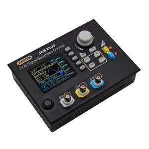 JUNTEK JDS2800 60MHz DDS Function Arbitrary Waveform Signal Generator + Software