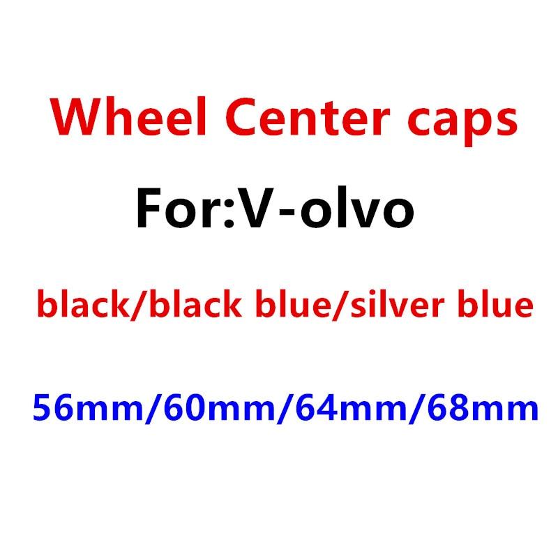 4 шт. 56 мм 60 мм 64 мм 65 мм 68 мм колпачки для центральной ступицы автомобильных эмблем колпачки для значков наклейка на колесо аксессуары для ав...