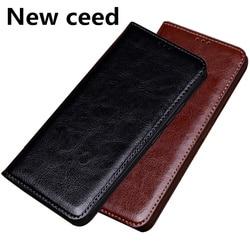 На Алиэкспресс купить чехол для смартфона high-end business genuine leather magnetic holder phone bag case for oppo realme c2/oppo reno 10x zoom phone case stand flip