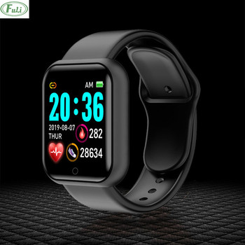 D20 Y68 Smart Watch Men Women Smartwatch Heart Rate Blood Pressure Monitor Fitness Tracker Smart Sport Bracelet For Android IOS недорого