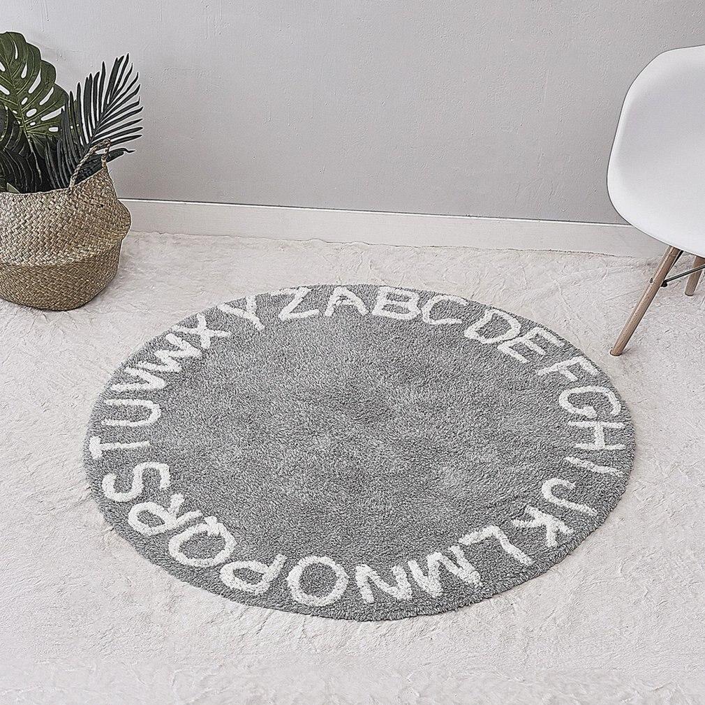 INS doux Polyester mousse Style nordique bébé tapis de jeu 26 lettres salle de sport ramper interlock exercice plancher tapis de jeu tapis rampant