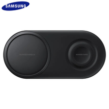 EP P5200 25 Вт QI Быстрое беспроводное зарядное устройство Duo Pad Быстрая зарядка для Samsung Galaxy S7 S8 S9 S10 e Plus Note 8 9 10 Gear S2 3