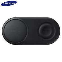 EP P5200 25W QI Fast Wireless Charger Duo Padชาร์จสำหรับSamsung Galaxy S7 S8 S9 S10 E plusหมายเหตุ8 9 10เกียร์S2 3