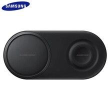 EP P5200 25W QI hızlı kablosuz şarj cihazı Duo Pad hızlı şarj şarj Samsung Galaxy S7 S8 S9 S10 e artı not 8 9 10 dişli S2 3