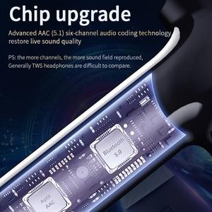 Image 2 - Essager 07B TWS Wireless Bluetooth 5.0 Earphone Headphones Fingerprint Touch Headsets Handsfree True Wireless Earbuds For Xiaomi