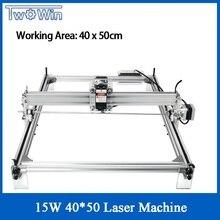15W Big Laser Power 4050 Laser Machine Desktop DIY Violet Laser Engraving Machine Picture CNC Printer Working Area 40cmx50cm