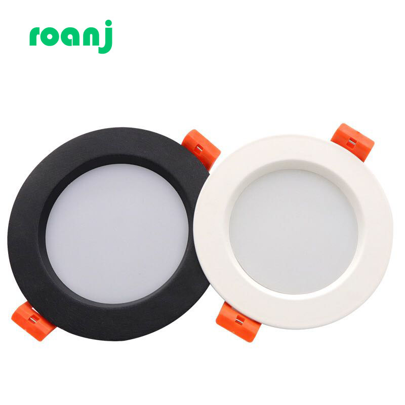 LED Downlight 3W 5W 7W 9W 12W 15W 18W 24WThick Aluminum Recessed LED Spot Lighting 220V 110VBedroom Kitchen Indoor Down Light