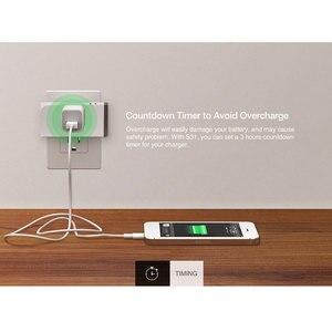 Image 5 - Itead Sonoff S31 US 16A inteligentne gniazdo wifi Monitor zużycie energii zdalny wylot przełącznik Wi fi współpracuje z Alexa Google Home Assistant