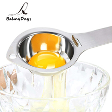 Stainless Steel Egg Separator Egg Yolk White Separator Filter Long Handle Egg Divider Baking Cooking Egg Tools Kitchen Gadgets