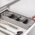 Поднос для столовых приборов, ложки, посуды, разделитель, органайзер, кухонный ящик, компактный