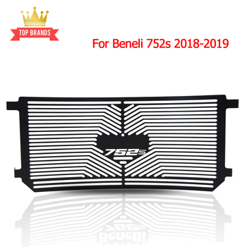 For Beneli Radiator Grille Guard 752s 2018-2019 ABS 750 S Stainless Steel Motorcycle Radiator Grille Guard Protector Grill Cover