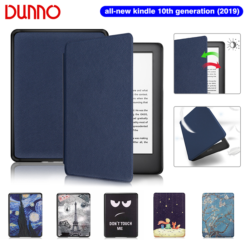 2019 All-New Kindle Case For Funda Amazon Kindle 6 inch Kindle Cover 10th Generation Waterproof Flip E-book Shell Capa
